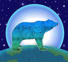 Lina Moon Bear by Jan Landers