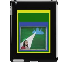 Beaming down Jesus iPad Case/Skin
