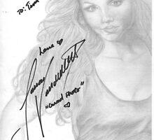 Autograph - Laura Vandervoort by teelecki