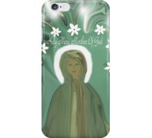 Holy Mary Mother Of God iPhone Case/Skin