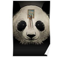 Panda window cleaner 03 Poster