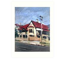 West End House Art Print