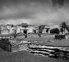 Tulum before the storm by Ian Andrew