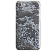 ice crystals on sand iPhone Case/Skin