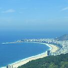 hang gliding over Ipanema by jdworldly