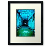 paint me as a dead soul Framed Print