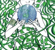 Help make our world green again Sticker