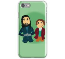 Bilbo & Thorin iPhone Case/Skin