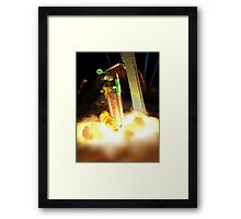 Time for blast off to Pakistan Moonbase Ro-64! Framed Print