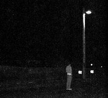 man under street light by Thomas  McBride