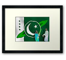 The Brave Men & Women Heroes of the Pakistani Starfleet Framed Print