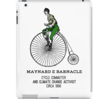 Climate change commuter iPad Case/Skin