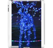 Reindeer Blue iPad Case/Skin