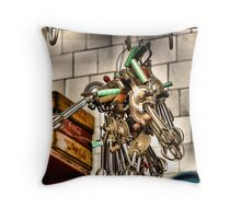 Inside The Omelette Makers Abode Throw Pillow