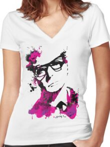I am Michael Caine Women's Fitted V-Neck T-Shirt