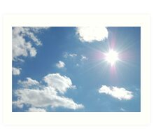 Perfect Sunlight Art Print