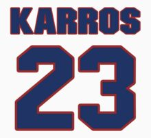 National baseball player Eric Karros jersey 23 by imsport