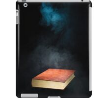 Book and smoke iPad Case/Skin