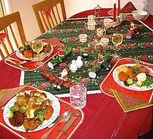 Christmas Lunch at My Place :) by Penny Smith