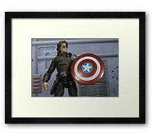 Heir To The Shield Framed Print