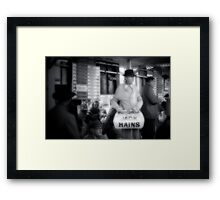 Oz78 Series #11 Framed Print
