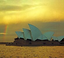 big house little rainbow.....  for Paul Keating esq..... by Juilee  Pryor