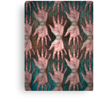 helping hands Canvas Print