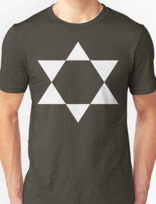 Ascending Pentagram [White Ink] Unisex T-Shirt