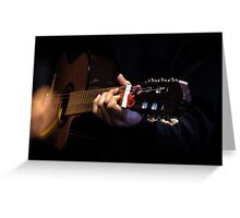 Guitarra Greeting Card