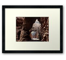 Doors of the Valley Framed Print