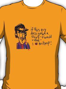 'I <3 Brit Pop Shirt' T-Shirt
