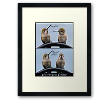 Sing A New Song, Everyday! Framed Print