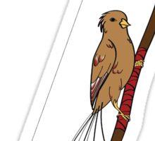 Archery Bird Sticker