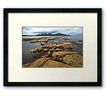 Freycinet Bay Tasmania Framed Print