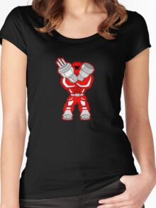Canon Robot  Women's Fitted Scoop T-Shirt