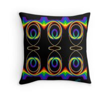 Fun With Rainbows Throw Pillow