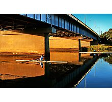 """Moorabool Street Bridge"" Photographic Print"