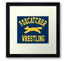 Foxcatcher Sweater Framed Print