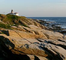 Lighthouse at Beavertail  by Jack McCabe