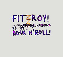 'Fitzroy Mock n' Roll' Womens Fitted T-Shirt