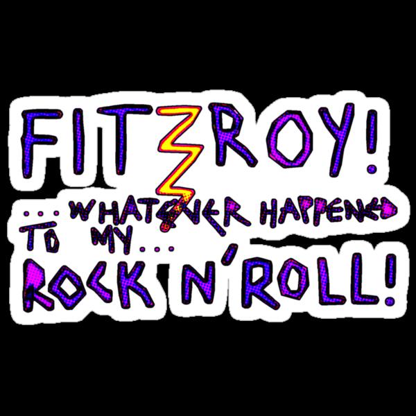 'Fitzroy Mock n' Roll' by ellejayerose