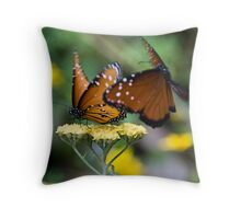 Unwanted Company Throw Pillow