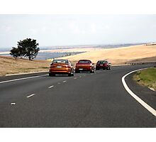 on the open road! Photographic Print