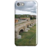 Puente de Orbigo Hospital de Orbigo, Spain iPhone Case/Skin