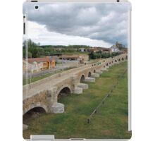 Puente de Orbigo Hospital de Orbigo, Spain iPad Case/Skin