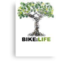BIKE:LIFE tree Metal Print