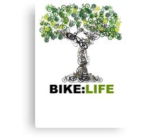 BIKE:LIFE tree Canvas Print