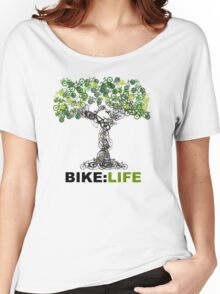 BIKE:LIFE tree Women's Relaxed Fit T-Shirt