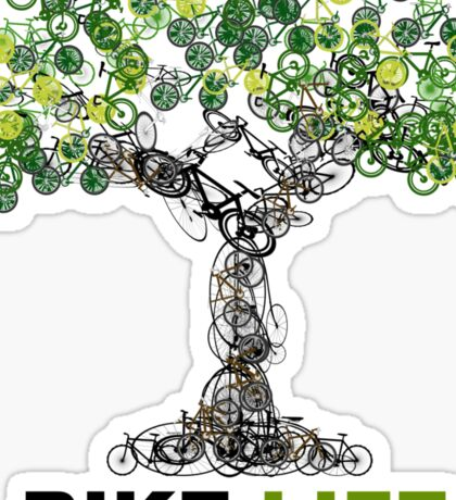 BIKE:LIFE tree Sticker