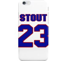 National baseball player Allyn Stout jersey 23 iPhone Case/Skin